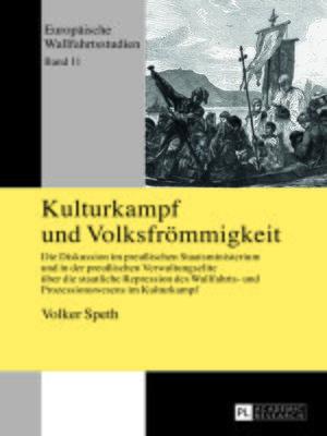 cover image of Kulturkampf und Volksfroemmigkeit