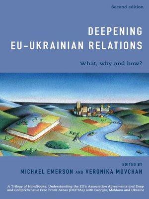 cover image of Deepening EU-Ukrainian Relations