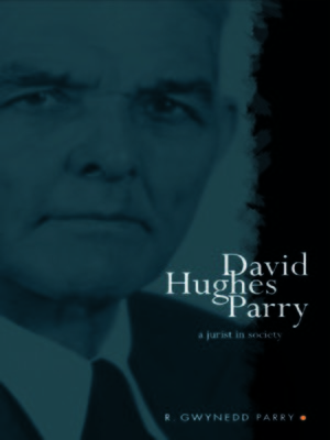 cover image of David Hughes Parry