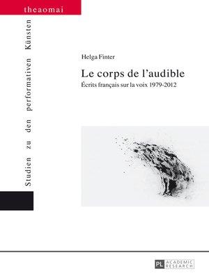 cover image of Le corps de laudible