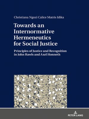 cover image of Towards an Internormative Hermeneutics for Social Justice