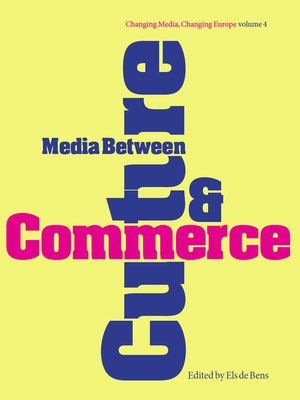 cover image of Media Between Culture & Commerce