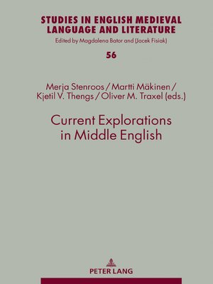 cover image of Current Explorations in Middle English