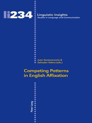 cover image of Competing Patterns in English Affixation