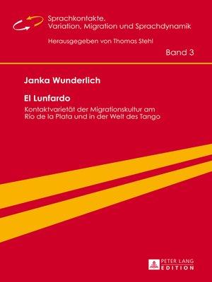 cover image of El Lunfardo