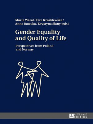 cover image of Gender Equality and Quality of Life