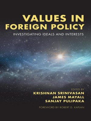 cover image of Values in Foreign Policy