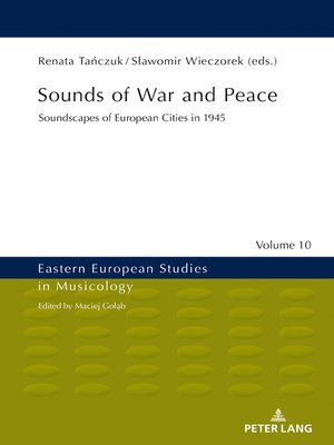 cover image of Sounds of War and Peace