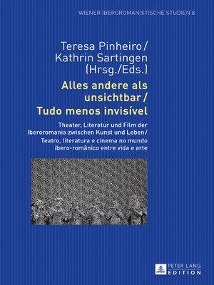 cover image of Alles andere als unsichtbar / Tudo menos invisível