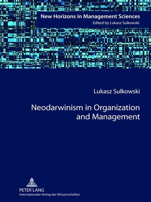 cover image of Neodarwinism in Organization and Management