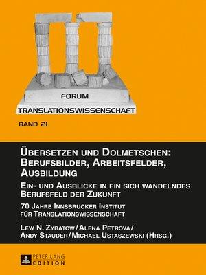 cover image of Uebersetzen und Dolmetschen