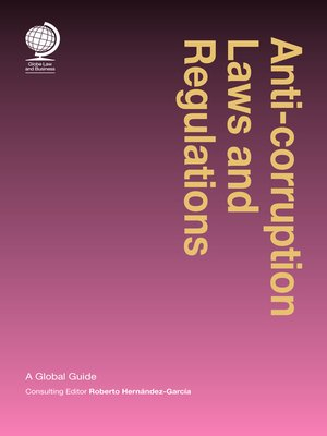 cover image of Anti-corruption Laws and Regulations