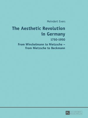 cover image of The Aesthetic Revolution in Germany