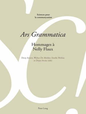 cover image of «Ars Grammatica»