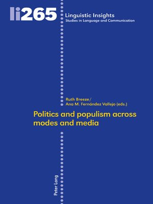 cover image of Politics and populism across modes and media