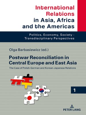 cover image of Postwar Reconciliation in Central Europe and East Asia