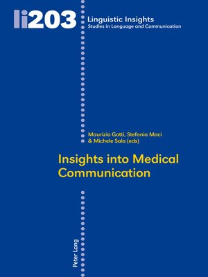 cover image of Insights Into Medical Communication