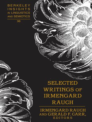 cover image of Selected Writings of Irmengard Rauch