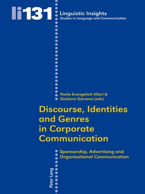 cover image of Discourse, Identities and Genres in Corporate Communication