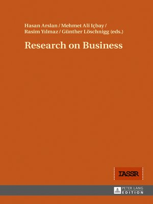 cover image of Research on Business