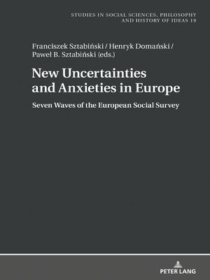 cover image of New Uncertainties and Anxieties in Europe