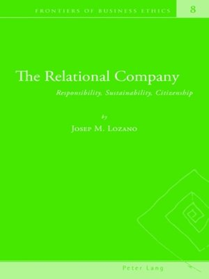 cover image of The Relational Company