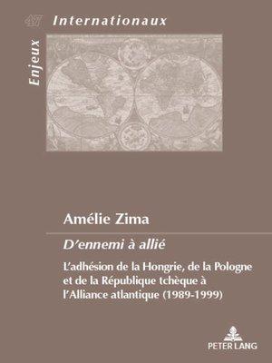 cover image of Dennemi à allié