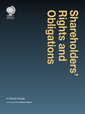 cover image of Shareholders' Rights and Obligations