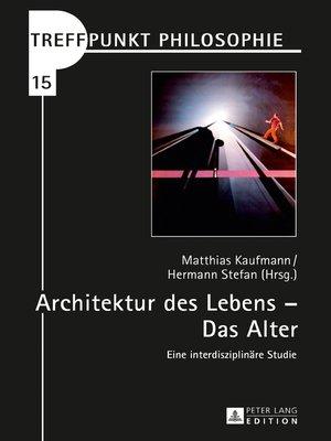 cover image of Architektur des Lebens  Das Alter