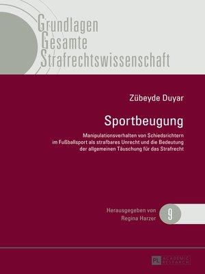 cover image of Sportbeugung