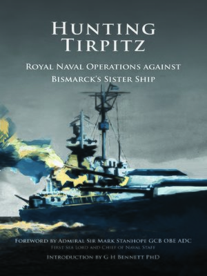 cover image of Hunting Tirpitz