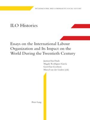 cover image of ILO Histories