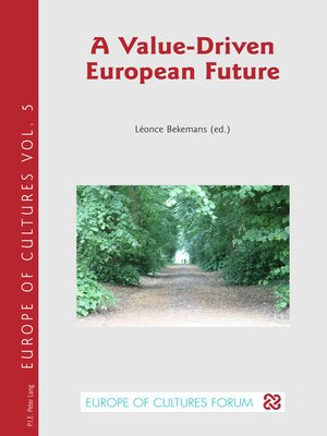 cover image of A Value-Driven European Future