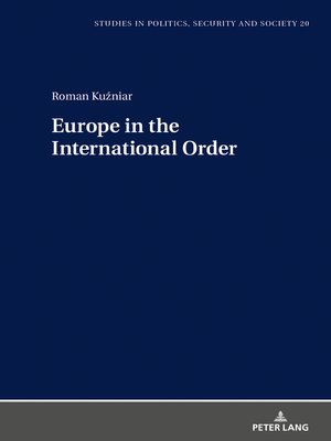cover image of Europe in the International Order