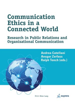 cover image of Communication Ethics in a Connected World