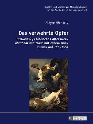 cover image of Das verwehrte Opfer