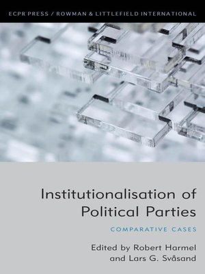 cover image of Institutionalisation of Political Parties