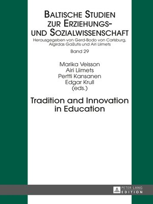 cover image of Tradition and Innovation in Education