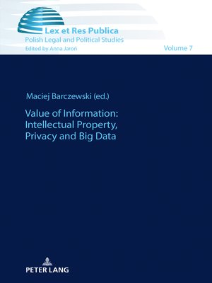cover image of Value of Information