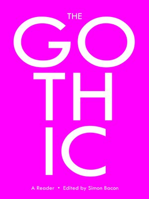 cover image of The Gothic