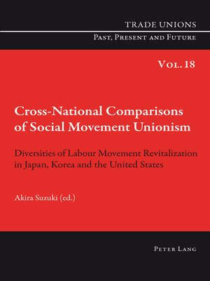 cover image of Cross-National Comparisons of Social Movement Unionism