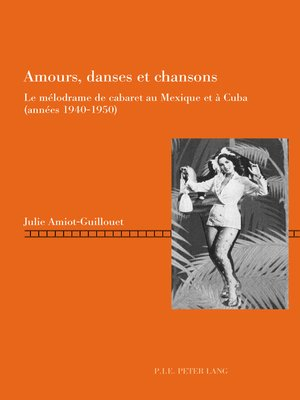 cover image of Amours, danses et chansons