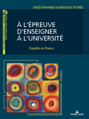cover image of À l'épreuve d'enseigner à l'Université