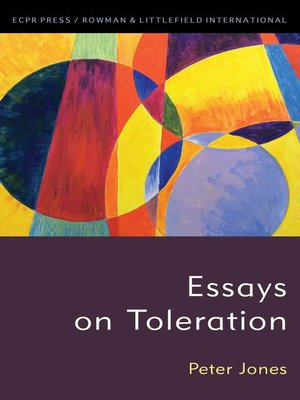 cover image of Essays on Toleration