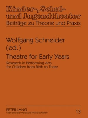 cover image of Theatre for Early Years