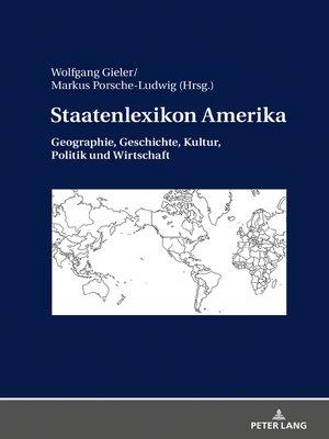 cover image of Staatenlexikon Amerika
