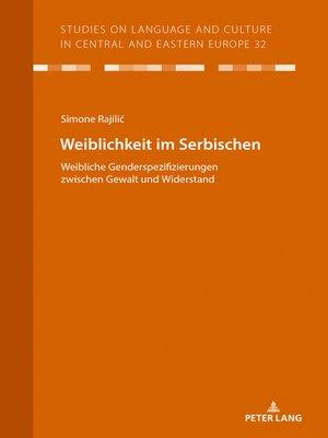 cover image of Weiblichkeit im Serbischen