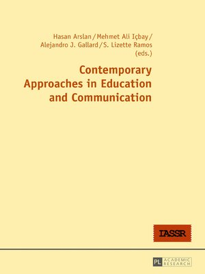 cover image of Contemporary Approaches in Education and Communication