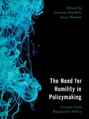cover image of The Need for Humility in Policymaking