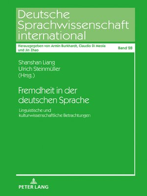 cover image of Fremdheit in der deutschen Sprache